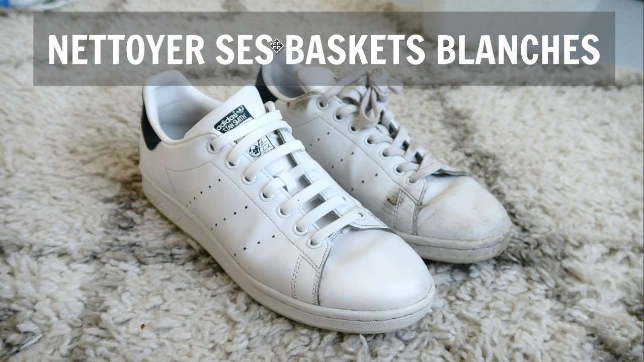 COMMENT NETTOYER SES BASKETS BLANCHES // ALEX FASHION BREAK