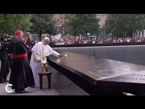 Pope Francis visits ground zero