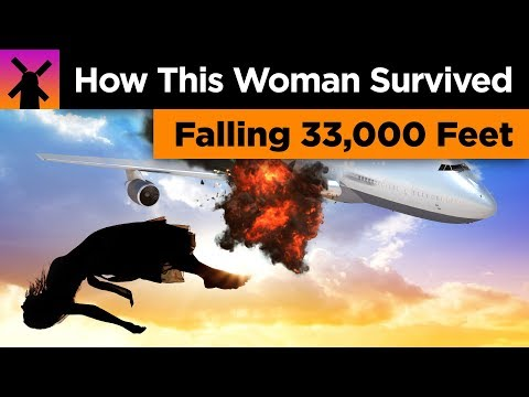 Chuck Dizzle - How a Woman Survived Falling 33,000 Feet Without a Parachute