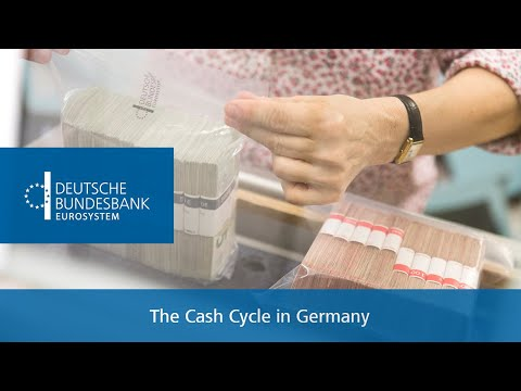 The Cash Cycle in Germany: How does cash come into circulation?
