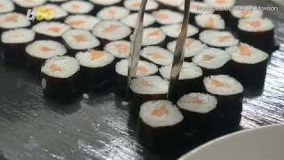 Athlete Banned From Buffet After Eating 100 Plates of Sushi