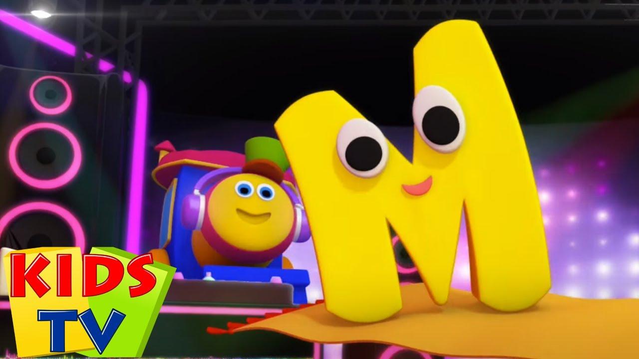 Bob le train | Chanson phonétique lettre M | Musique pour enfants | Kids Tv Française | Maternelle