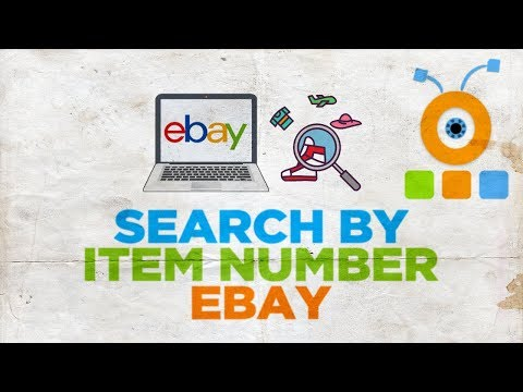 How To Search Ebay By Item Number Youtube