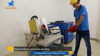 Induction metal melting furnace for foundry - SuperbMelt