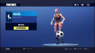 Fortnite Warpaint et Rose Team Leader Skins