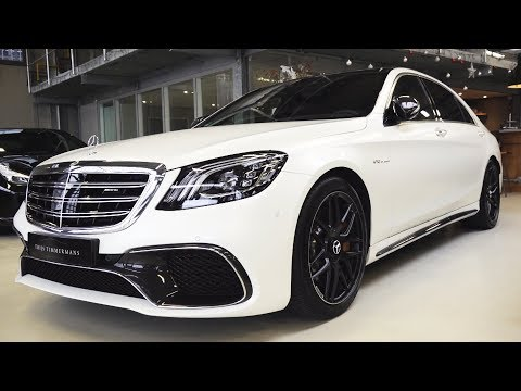 2019 Mercedes S65 AMG - V12 S Class NEW Review BRUTAL Sound Exhaust Interior Exterior Infotainment