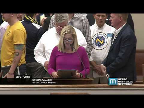 08/27/18 Special Called Metro Council Meeting Mp3