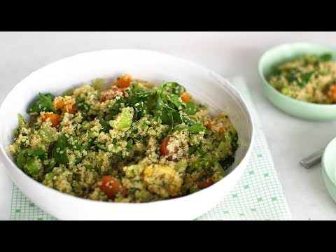 Whole Grain Salad with Chopped Parsley- Healthy Appetite with Shira Bocar