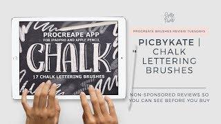 Procreate Brush Review | Neon Procreate Kit Brushes by Mila Garret