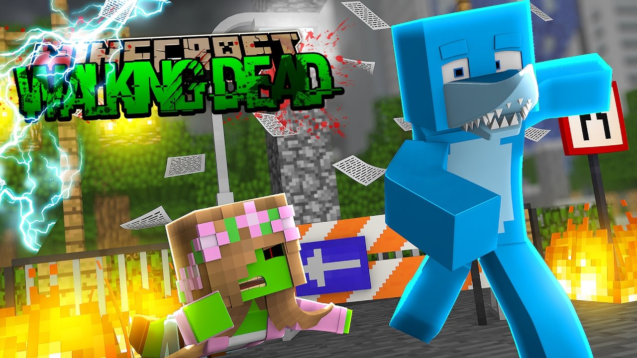 Minecraft The Walking Dead : LITTLE KELLY TURNS FULL ZOMBIE?!