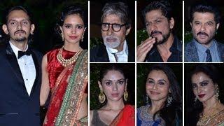 Shahrukh, Amitabh, Akshay, Rani @ Vishesh Bhatt's WEDDING RECEPTION