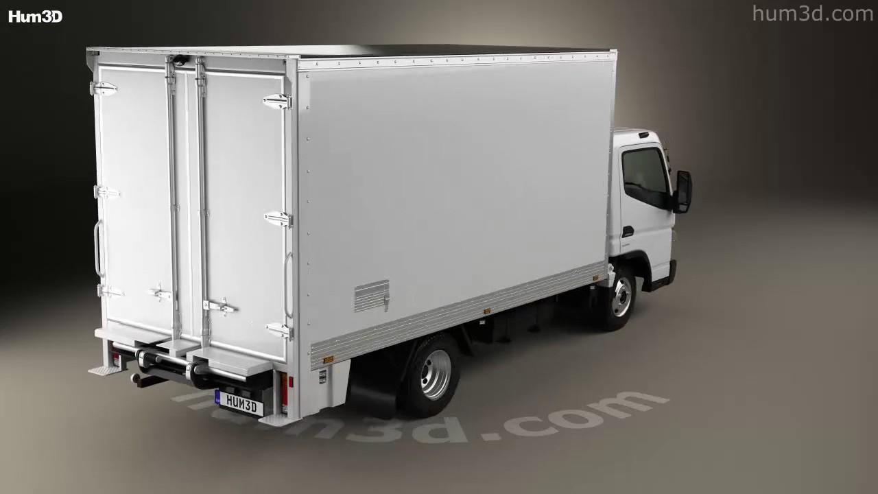 Canter truck sale double cabin 4wd japan import jpn car - Mitsubishi Fuso Canter 515 Wide Single Cab Pantech Truck 2016 3d Model By Hum3d Com