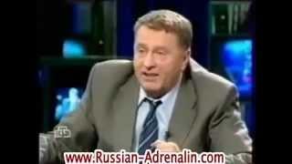 Жириновский с Немцовым обсуждают Волги