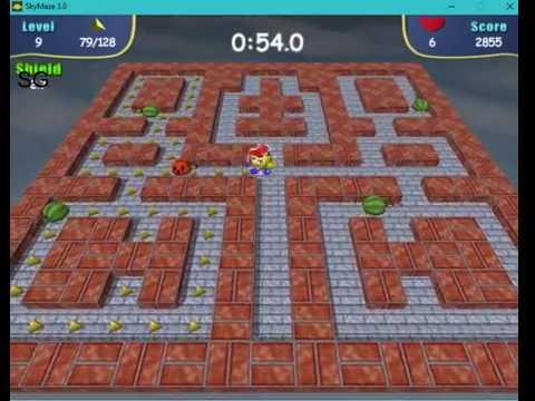 "Sky Maze - SkyMaze 3.0 Gameplay complete 20 Levels of ""Nice Jorney"" Mission"