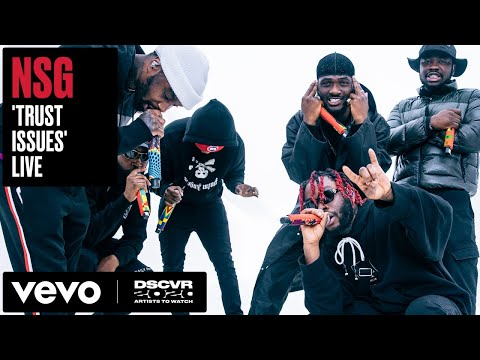 NSG - Trust Issues   Vevo DSCVR Artists to Watch 2020