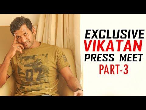 Director Bala ஏன் அப்படி செய்தார்? சாகும்வரை மறக்க மாட்டேன்!   Vishal   Vikatan Press Meet
