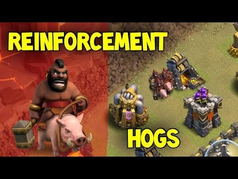 Reinforcement Hogs - Hogrider Deployment Guide | Clash of Clans