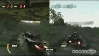Motorstorm: Pacific Rift gameplay video 4