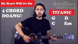Chord Gampang (My Heart Will Go On - Celine Dion) by Arya Nara (Tutorial Gitar) Untuk Pemula