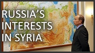 Why does Russia support Syria
