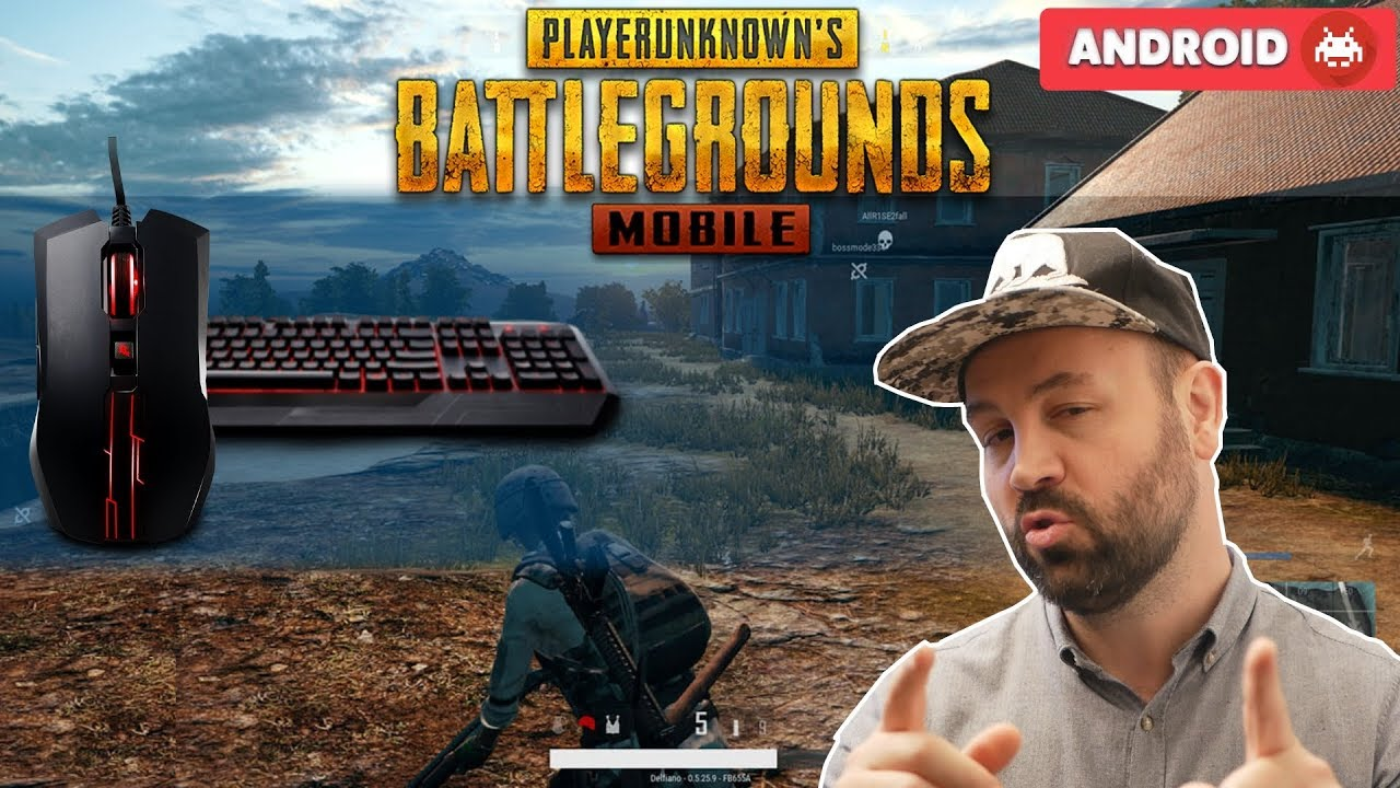 PUBG Mobile Android with Combo Keyboard and Mouse !