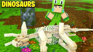 WE LOST ONE OF OUR DINOSAURS! Dinosaurs #12