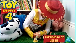 TOY STORY 4 TOYS 2019 || UNBOXING TOY STORY 4 TOYS COLLECTION || Pretend Play. T
