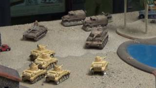 Flames of War Game Battle Report: Desert Rats V Africa Corps.  Part One