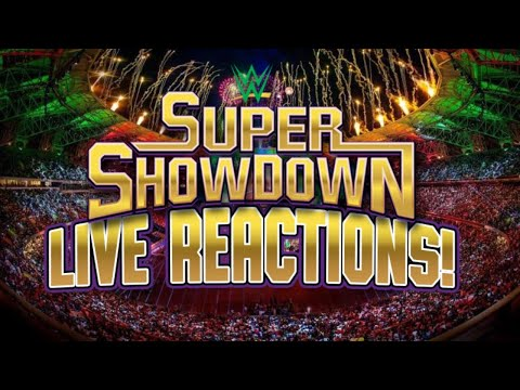 WWE Super ShowDown 2020 - Live Reations