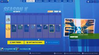 *NEW* ITEM SHOP AND BATTLEPASS GIVE AWAY!| Fortnite