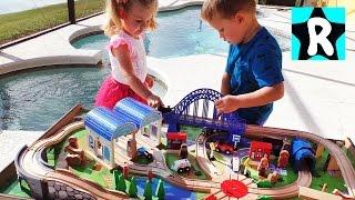Томас и Его Друзья ЖЕЛЕЗНАЯ ДОРОГА Паровозик Томас Видео Для Детей Trains Toys Thomas and Friends