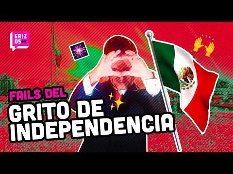 ¡VIVA MÉXICO! Los mejores fails del Grito de Independencia en México | Erizos