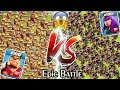 Gambar cover 100 KING vs 100 QUEEN Clash of Clans | Barbarian KING vs Archer Queen | Max KING vs Max QUEEN