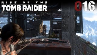 Rise of the Tomb Raider 016 | Das Kupferbergwerk | Let's Play Gameplay Deutsch thumbnail