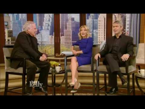 Robert Wagner  Live With Kelly  11 15 2016 co host Andy Cohen