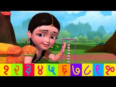 Ginti 110  Hindi Rhymes for Children