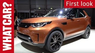 First look - 2017 Land Rover Discovery