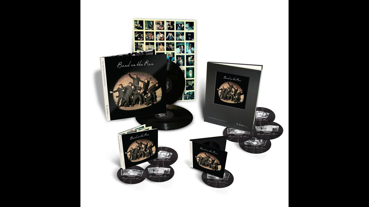 Paul McCartney Archive Collection Band On The Run Deluxe Box Set