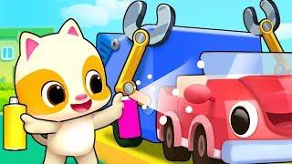 Müllwagen für Kinder | Arzt Cartoon -, Feuer-LKW | Kinderlieder | Kinder Lieder | BabyBus