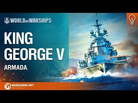 World of Warships - Armada: King George V