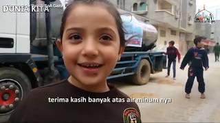 BIKIN haru Derita anak Palestina dan Bantuan dari Indonesia