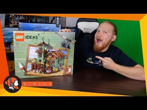 LEGO® - Old Fishing Store (21310) - Nézzétek azokat a részleteket! (F)