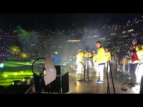 Kumbia Kings inauguración apertura 2018 Estadio Univesitario /Tigres