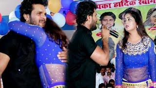 अंजना सिंह और खेसारी के छलके आंसू, दर्द भरा लचारी Live Performance Anjana Singh & Khesari Lal Yadav