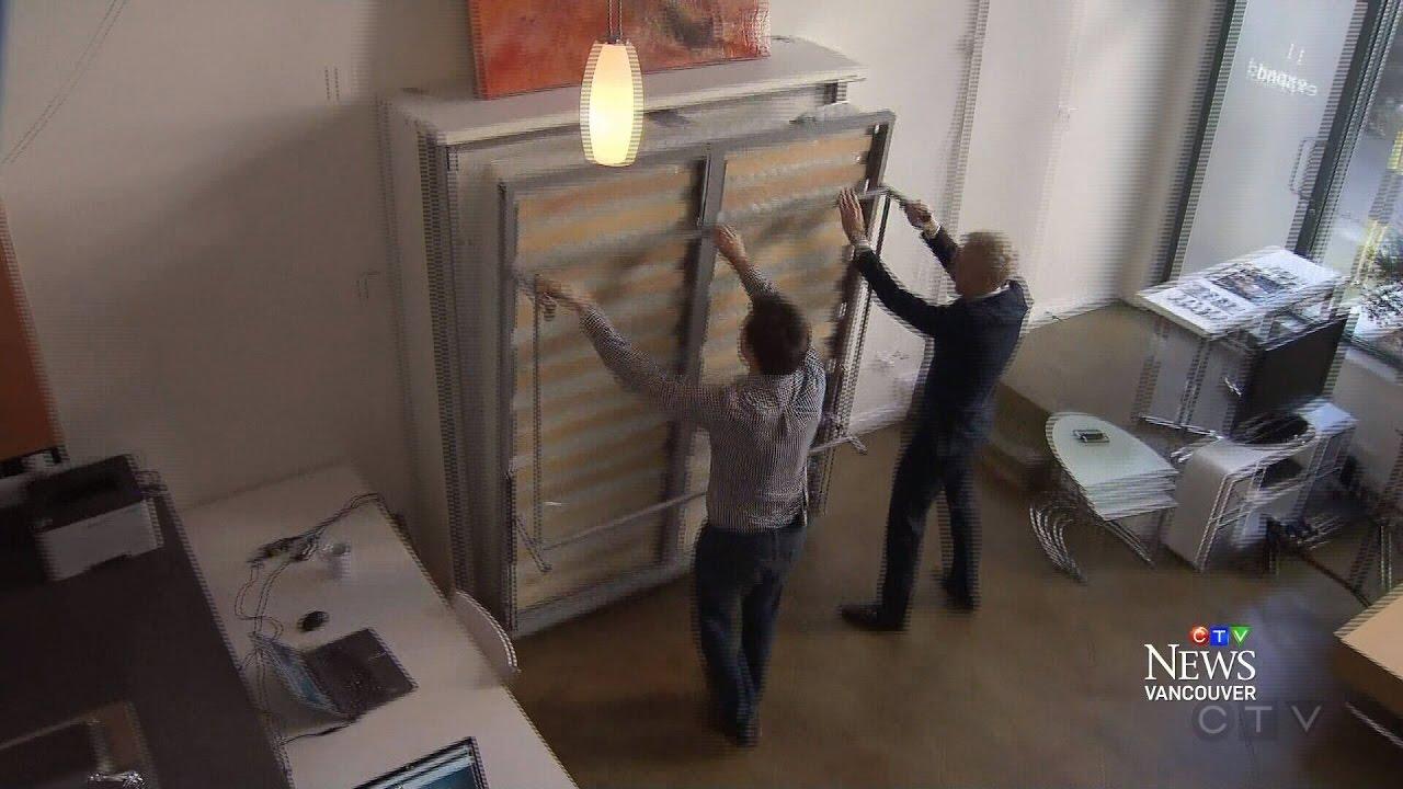 Amazing U0027James Bondu0027 Style Furniture Frees Up Floor Space