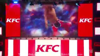Shawn Michaels Entrance at SummerSlam 2017 as Colonel Sanders