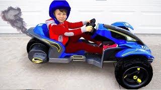 لم تر مثل هذه السيارة! سينيا يشتري عربة ثلاثية العجلات جديدة
