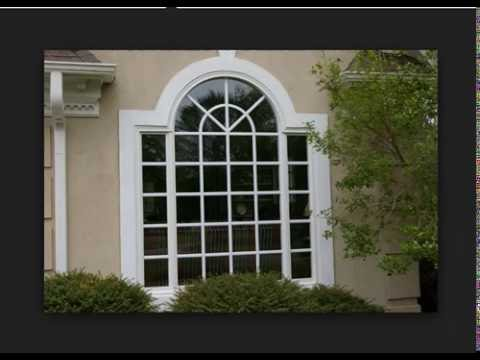 Latest home window designs home design ideas pictures for Window design for house