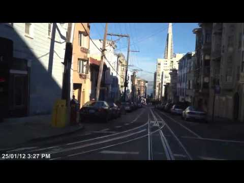Cable Car ride in San Francisco