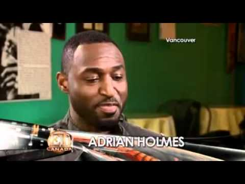 Adrian Holmes on Entertainment Tonight Canada